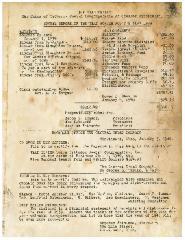 Annual Report for 1939 of the VAAD Ho'ier of Cincinnati, Ohio (The Union of Orthodox Jewish Congregations of Greater Cincinnati)