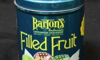 Fruit Filled Chocolate Tin