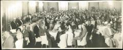 Photograph of 1931 Banquet at the Installation of Rabbi Eliezer Silver as Chief Rabbi of Cincinnati, held in conjunction with the 1931 Annual Convention of the Agudas HaRabonim