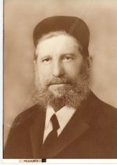 Portrait picture of Rabbi Eliezer Silver