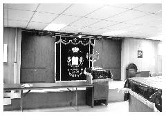 Photographs of the Interior of the Kneseth Israel Synagogue (Section Road Location), Cincinnati, Ohio