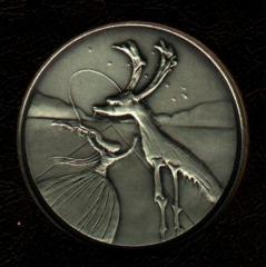 Tribe of Naphtali - Salvador Dali 1973 25th Anniversary of Israel Silver Medal