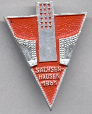 Sachsenhausen 1961 Survivors Pin