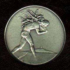 Tribe of Issachar - Salvador Dali 1973 25th Anniversary of Israel Silver Medal