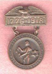 Hebrew Veterans, Wars of the Republic, 1776-1918 USA Medal