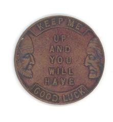 Token Issued by Jewish Old Folks Home in Toronto, Ontario, Canada #1