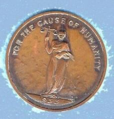 B'Nai Brith District Grand Lodge No 4 (San Francisco) 1933 Token
