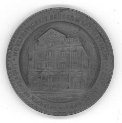 B'Nai B'rith Synagogue Medal