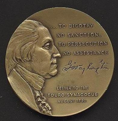George Washington Medal Front/Obverse