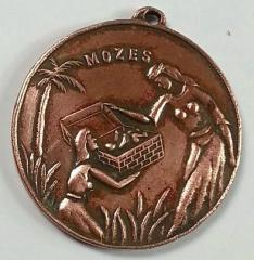 Moses Pulled from the Nile / Jerusalem The Citadel Medallion