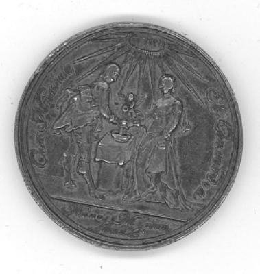 Unidentified Wedding Medal Front/Obverse