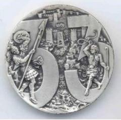 Medal Commemorating the 33rd Anniversary of Israel's Establishment