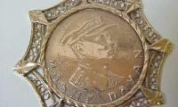 Moshe Dayan 1967 Victory Medallion Front/Obverse