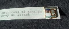 Americans of Haganah / Army of Israel Pin