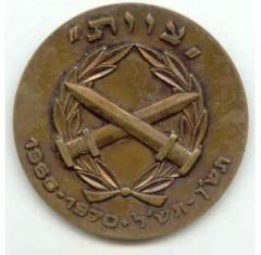 "Israel Defense Forces (IDF) ""Tzevet"" Private Award Medal"