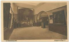 Bezalel Postcard Showing the Sales Room, The Hirshenberg-Hall