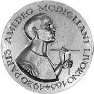 Amedeo Modigliani Medal