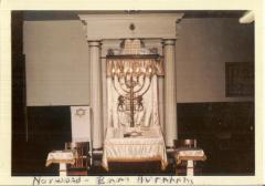 Photograph of the Interior of B'Nai Avraham Synagogue (Cincinnati, Ohio)