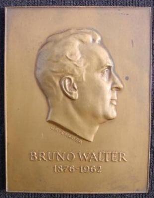 Bruno Walter Plaque