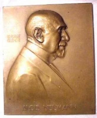 Alois Neumann 60th Birthday Plaque