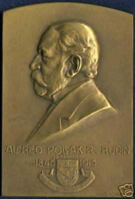 Alfred Pollak R. von Rudin Plaque