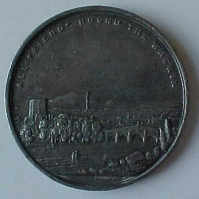 Benjamin Disraeli - Earl of Beaconsfield Medal Front/Obverse