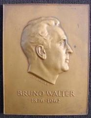 Bruno Walter Plaque