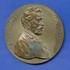Carl Julius Salomonsen (noted Jewish Doctor) Medal