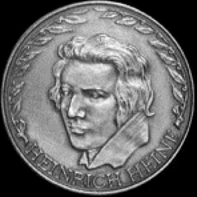 Heinrich Heine Medal Front/Obverse