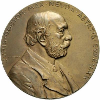 Max Neuda Medal Front/Obverse