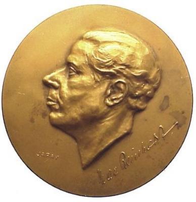 Max Reinhart Medal Front/Obverse