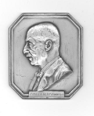 Max Liebermann Plaque