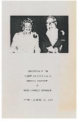 Dedication Booklet for the North Avondale Synagogue Albert & Sadye Harris Memorial Sanctuary