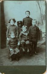 "Portrait of Ferber children - mother of Louis ""Lou"" Weiser"