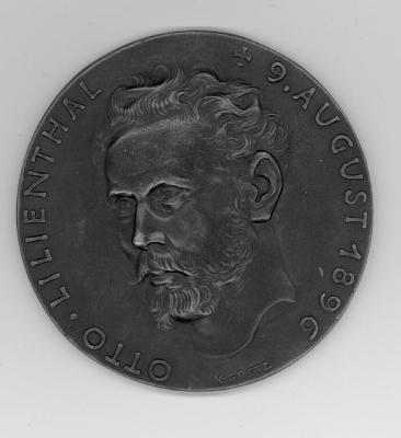 Otto Lilienthal Medal Front/Obverse