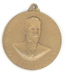 S. Schapiro and Sons, Inc. 50th Anniversary Medallion