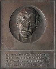 Victor Adler Plaque