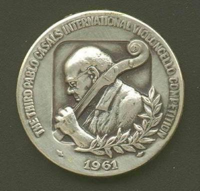 Pablo Casals Medal Front/Obverse