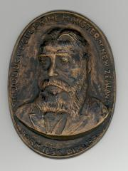 Sir Julius Vogel (1st Jewish Prime Minister of New Zealand) Plaque