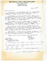 Documents relating to the Hiring of Rabbi Abraham Schnall by the North Avondale Synagogue (Cincinnati, Ohio)