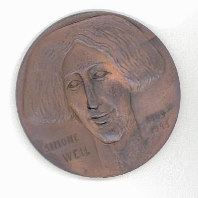 Simone Weil Front/Obverse