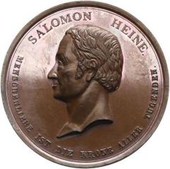Salomon Heine & The Opening of the Jewish Hospital in Hamburg Medal