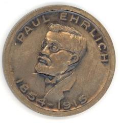 Paul Ehrlich – Father of Modern Chemothrapy Medal