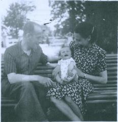 Monique Rothschild and parents