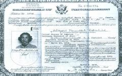 Certificate of Naturalization for Hilda Rothschild