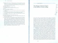 """The Refugee Scholars Project of the Hebrew Union College"" by Dr. Michael A. Meyer"