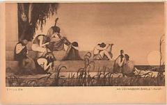 "E. M. Lilien Postcard ""An Den Wassenbabels"" (""On the Waters of Babylon"")"