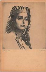 """E. M. Lilien Postcard """"Esther"""""""