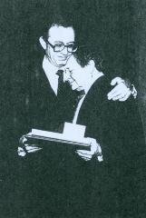 "Rabbi Herman Schaalman and Rabbi Joseph ""Joe"" Glaser"