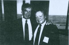 Rabbi Herman Schaalman and Elie Wiesel